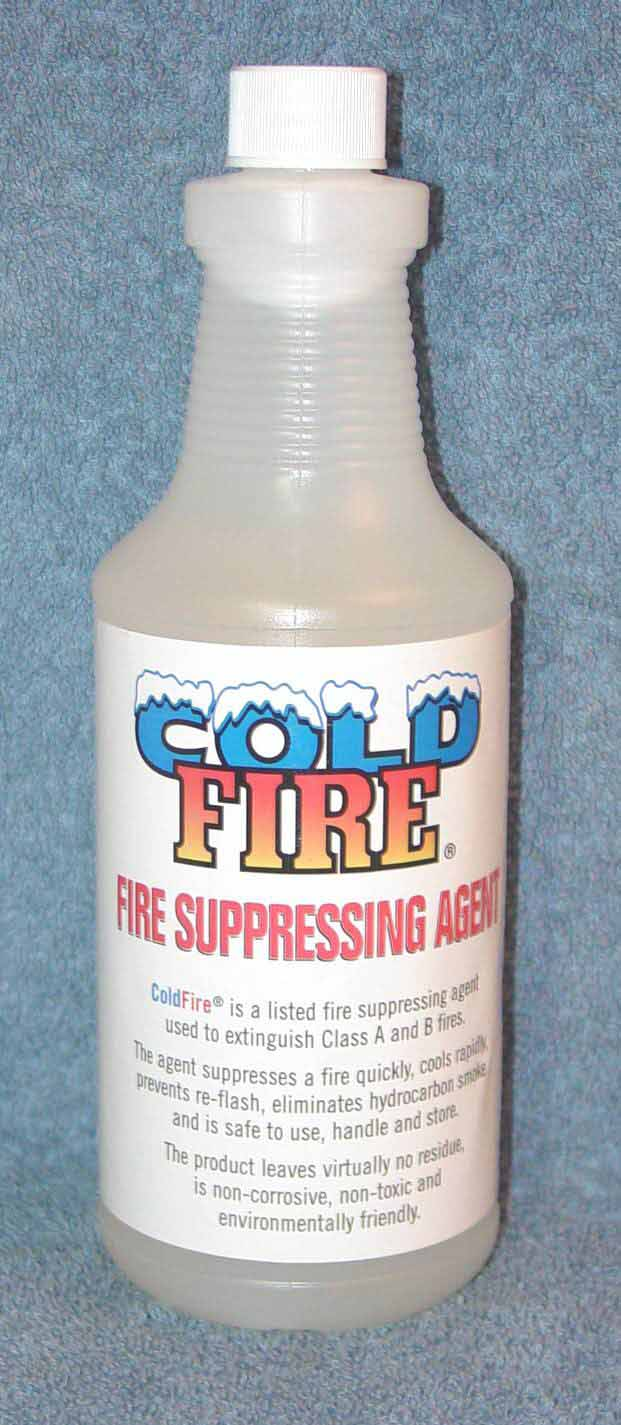 Cold Fire Extinguisher Concentrate of Cold Fire®